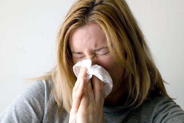 chřipka, alergie, rýma