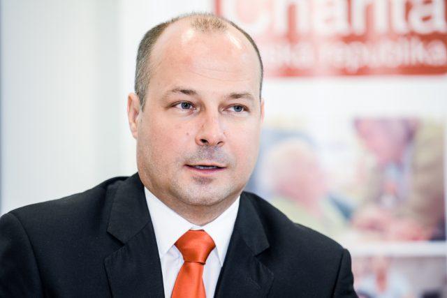 Lukáš Curylo, ředitel Charity Česká republika