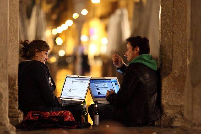 Připojení wifi (ilustrační fotka)