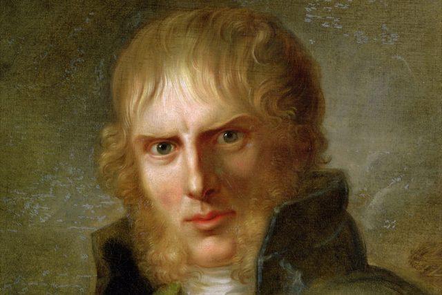 Gerhard von Kügelgen: Portrét Caspara Davida Friedricha