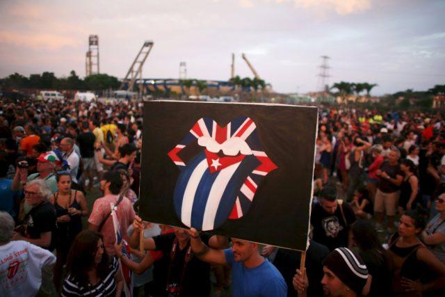 Na koncert se přišlo podívat půl milionu lidí