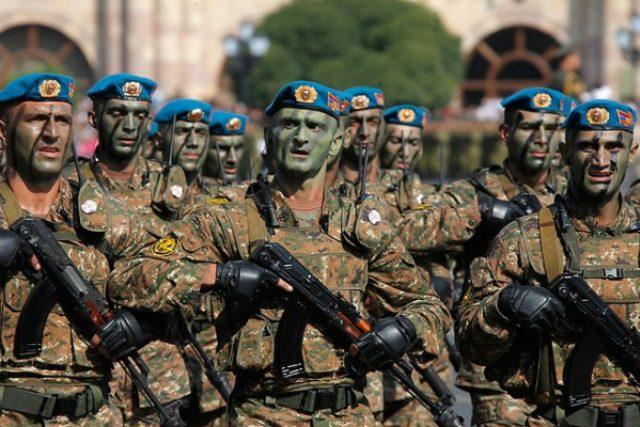 Arménští vojáci, speciální jednotky
