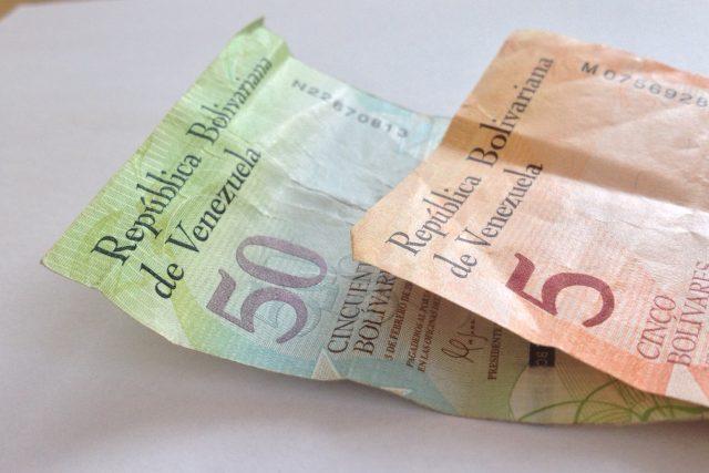 Venezuelská měna bolívary
