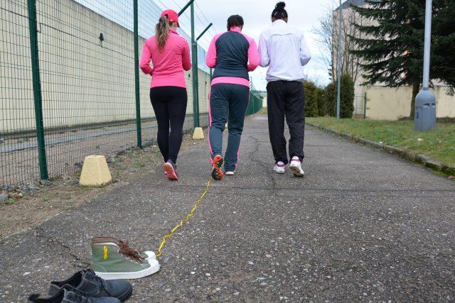 Trénovat chodí tři odsouzené: Lenka,  Pamela a Sandra | foto:  Věznice Světlá nad Sázavou