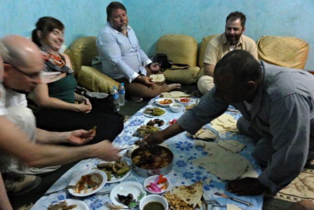 Čeští egyptologové v Abúsíru