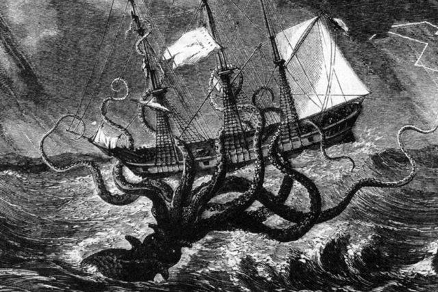 Kraken, mořská příšera