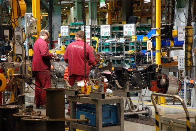 Montáž Tatra Trucks | foto: Michal Polášek
