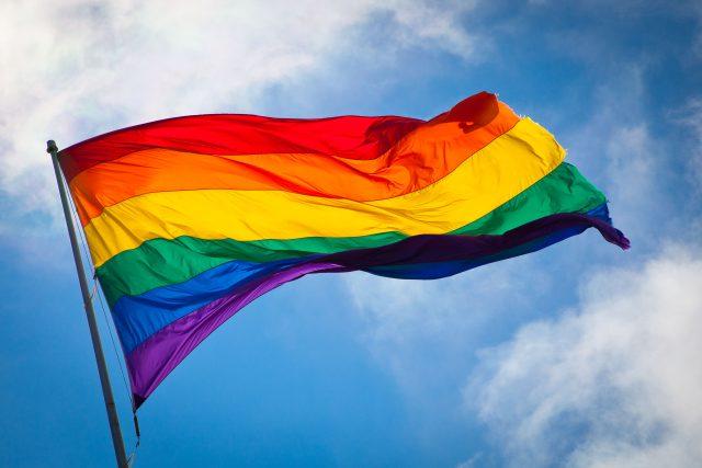 LGBT vlajka   foto: Benson Kua