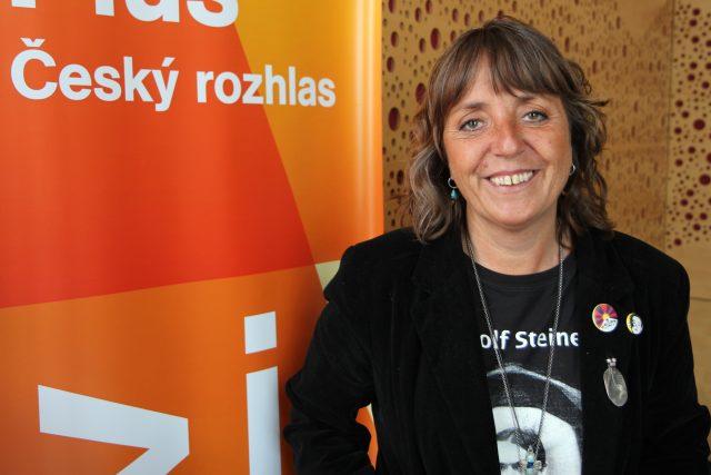 Bára Hrzánová | foto: Jan Bartoněk,  Český rozhlas
