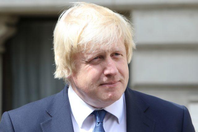 Britský ministr zahraničí Boris Johnson (2016)