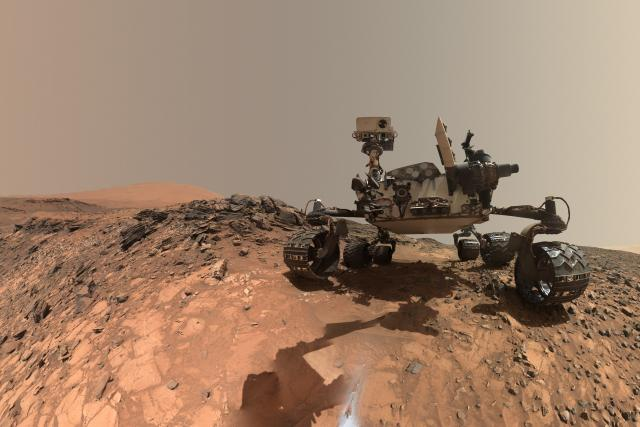 Selfie Mars Curiosity Roveru