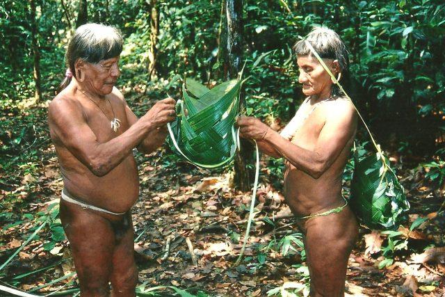 Lidé z kmene Huaorani