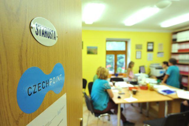 Czech Point, úřad, úřednice, administrativa