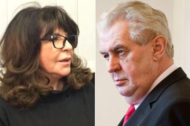 Terezie Kaslová porazila Hrad. Kancelář se musí omluvit za výrok prezidenta Miloše Zemana o jejím dědovi Ferdinandu Peroutkovi