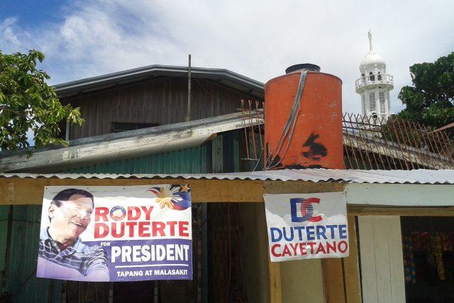 Barangay Rio Hondo, jedna z většinově muslimských čtvrtí ve městě Zamboanga. I tady vyhrál prezident Duterte volby na plné čáře
