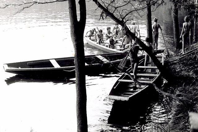 Vodní skauti měli své letní tábořiště na Seči