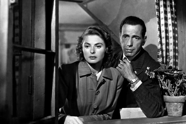 Z filmu Casablanca
