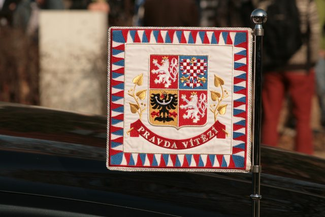 Standarta prezidenta České republiky | foto:  Bazi,   GNU Free Documentation License