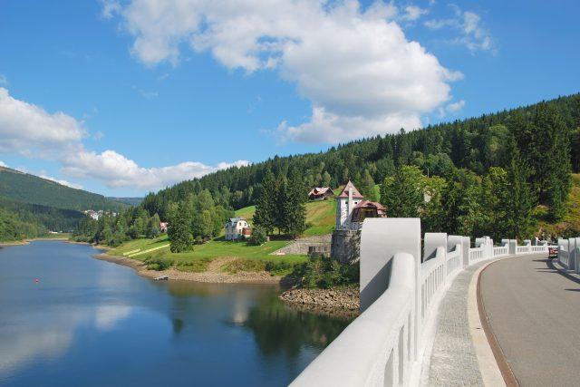Labská přehrada Špindlerův Mlýn | foto: archiv Krkonošského národního parku