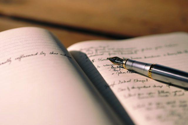 Pero,  psaní  (ilustrační foto) | foto: Fotobanka Pixabay
