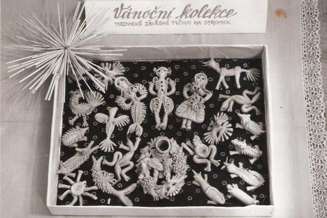 Vánoční kolekce vizovického pečiva rodiny Halovy z Vizovic z roku 1980