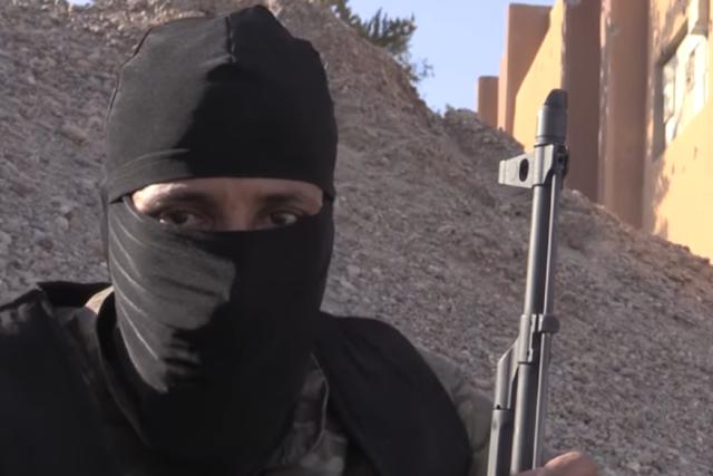 Bojovník teroristické sítě Islámský stát (ilustrační snímek).