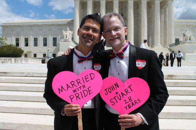 Stejnopohlavní svazek - manželství homosexuálů