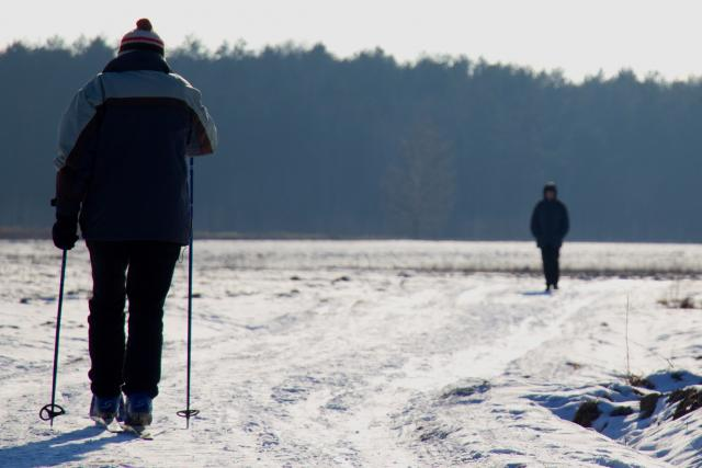 Běžkování v přírodě si mohou Varšavané dopřávat plnými doušky