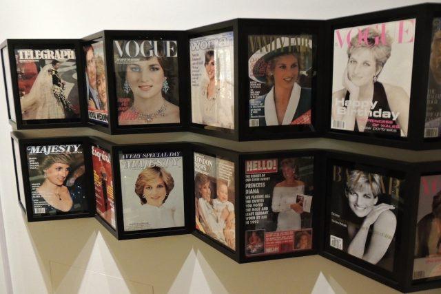 Princezna Diana patřila mezi nejfotografovanější lidi světa