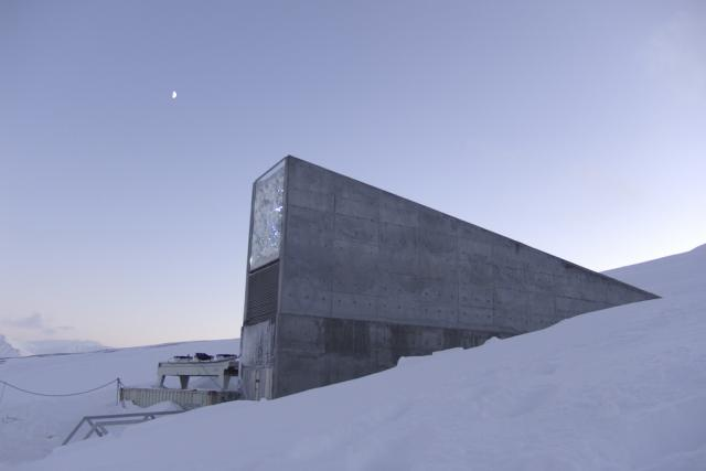 Svalbard Global Seed Vault | foto: Creative Commons Attribution-NonCommercial-ShareAlike 2.0 Generic,   Global Crop Diversity Trust