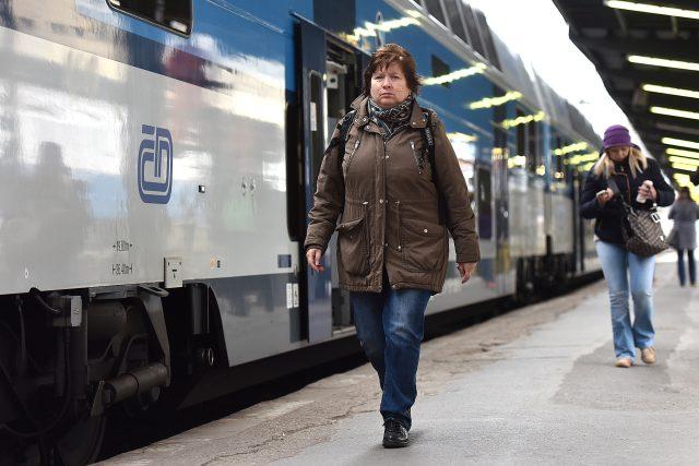 Vlak,  nádraží,  Masarykovo nádraží,  vlaky,  České dráhy | foto: Filip Jandourek
