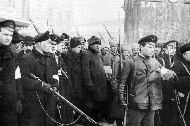 Revoluční Rusko v roce 1917   foto: Public domain