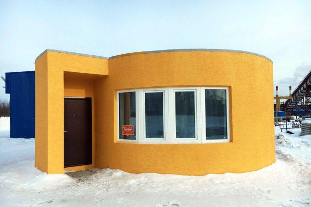 Dům z 3D tiskárny