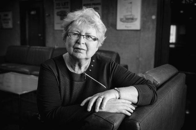 Eva Semotanová,  historička a ředitelka Historického ústavu AV České republiky   foto: Vojtěch Havlík