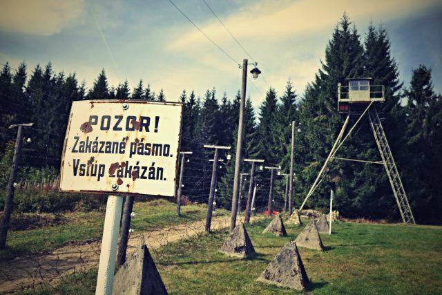 Totalita,  státní hranice,  zakázané pásmo   foto: Tomáš Vodňanský,  Český rozhlas