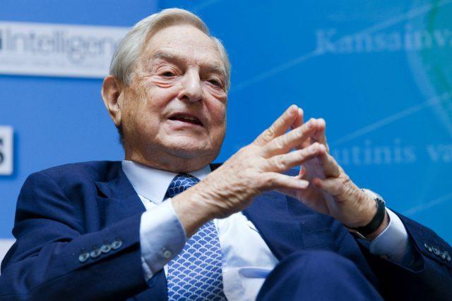 Maďarský rodák a americký multimiliardář, finančník a filantrop George Soros