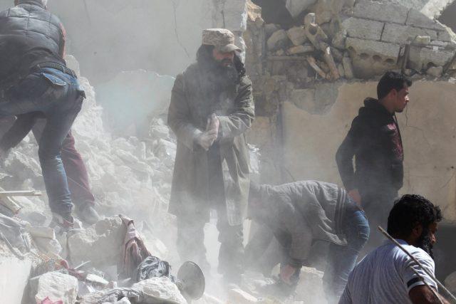 Rusko i Sýrie útok popírají. Vyžádal nejméně 100 obětí a 400 raněných.