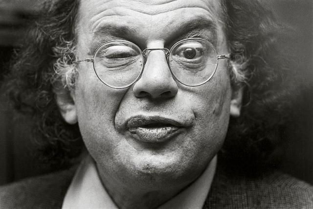 Allen Ginsberg | foto: Wikimedia Commons CC-BY-2.5