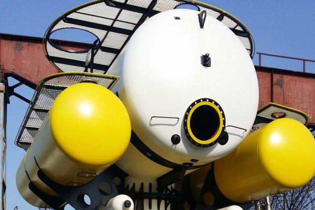 Část modulu H03 projektu Hydronaut Matyáše Šandy