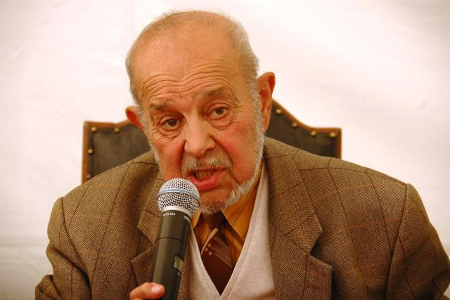 Karel Holomek na festivalu Khamoro