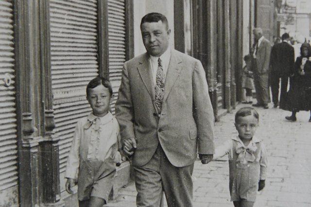 Otto Šimko s bratrem | foto: Post Bellum