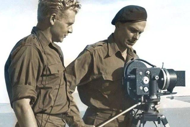 Hanzelka a Zikmund jako filmaři na cestách
