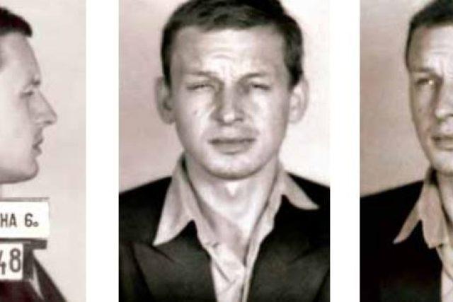 Vězeňský snímek Jana Beneše z roku 1966