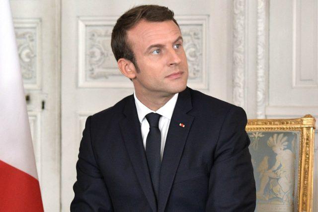 Francouzský prezident Emmanuel Macron | foto: Kremlin.ru CC BY 4.0