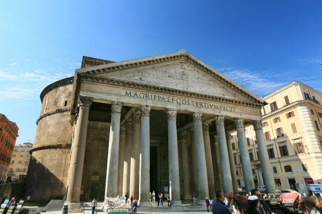 Pantheon v Římě | foto: CC0 Public domain