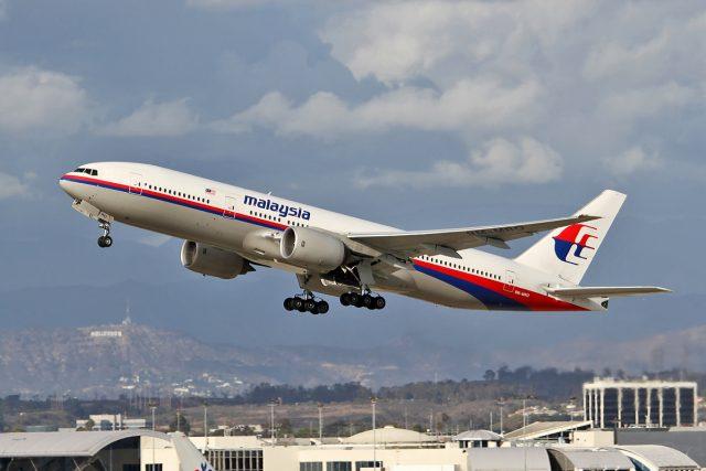 Boeing 777, který se v roce 2014 ztratil, patřil společnosti Malaysia Airlines.
