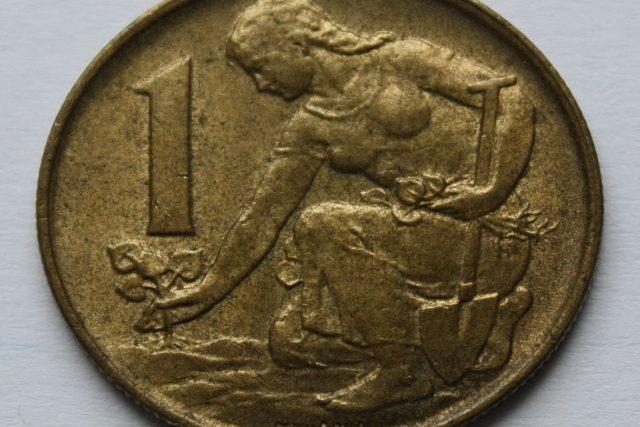 Jedna koruna československá