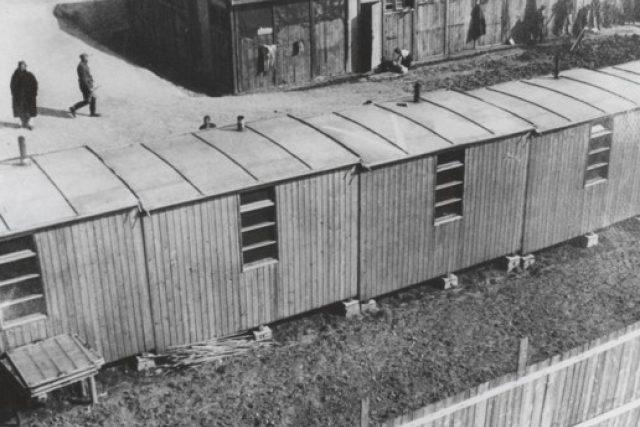 Tábor v Letech u Písku otevřely v srpnu 1940 protektorátní úřady jako kárný pracovní tábor