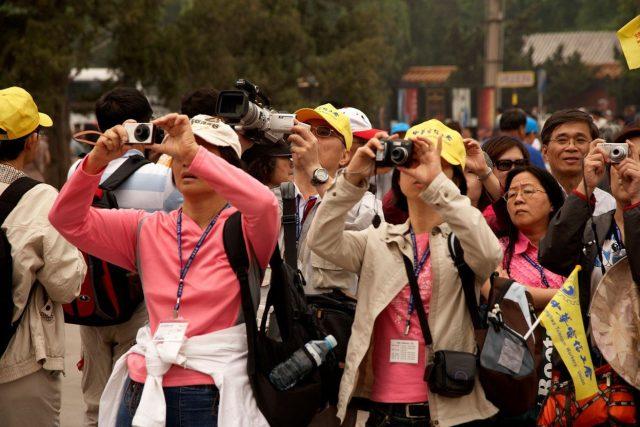 Turisté z Číny