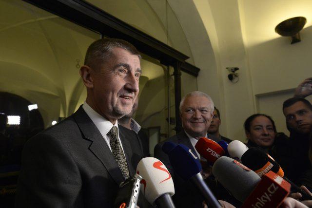 Andrej Babiš | foto: Ondřej Deml,  ČTK